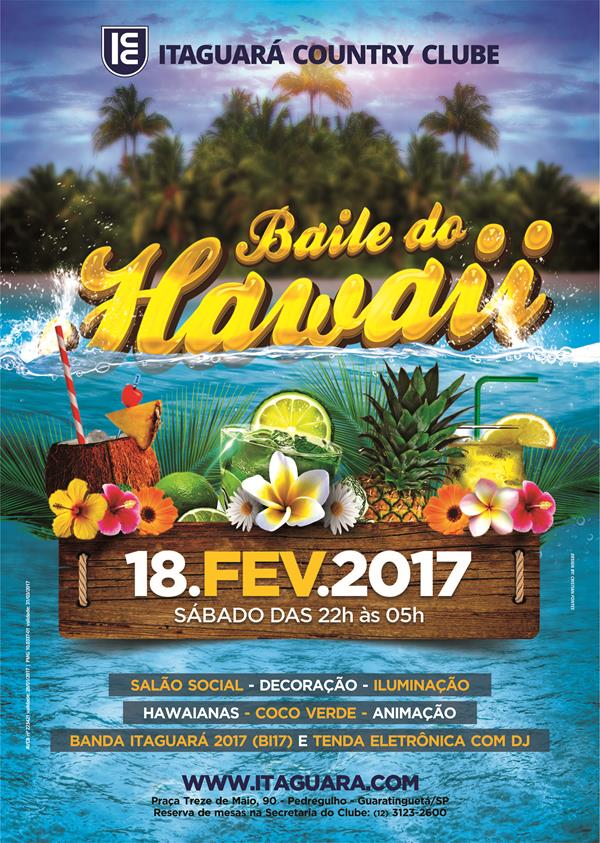 baile do hawaii 2017  itaguar u00e1