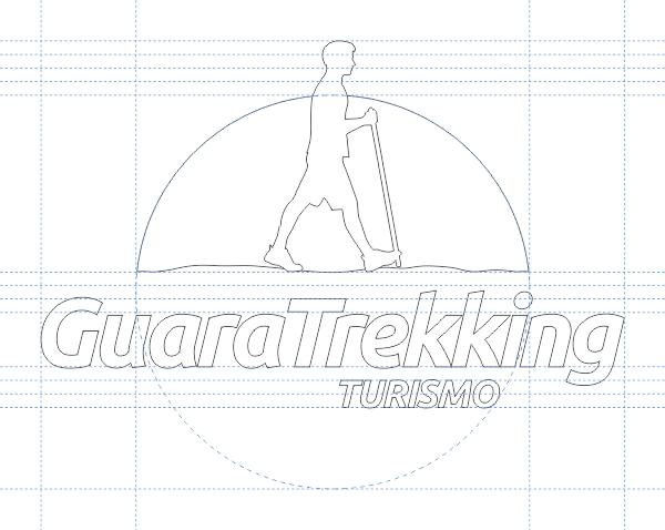 Linhas iniciais de criação do logotipo